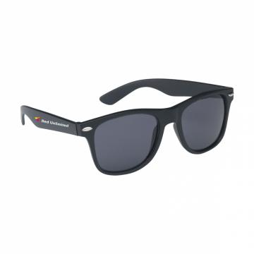 Malibu Matt Black lunettes...