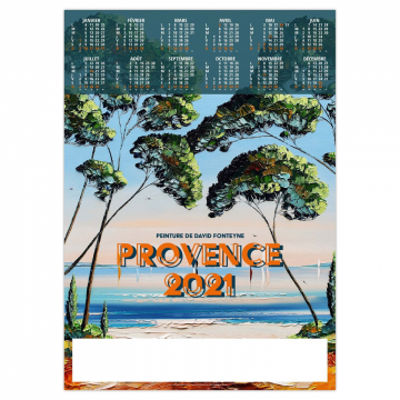 POSTER PROVENCE 2021