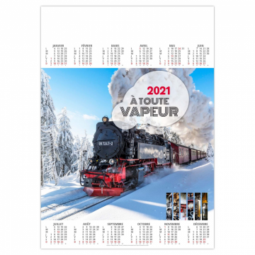 POSTER TRAINS 2021