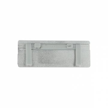 Badge aluminium 7 x2 5 cm