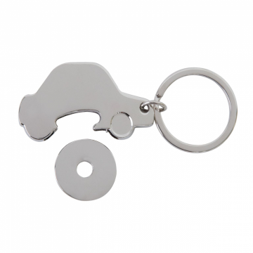 Porte-clés jeton voiture