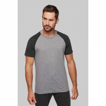 T-shirt bicolore sport...