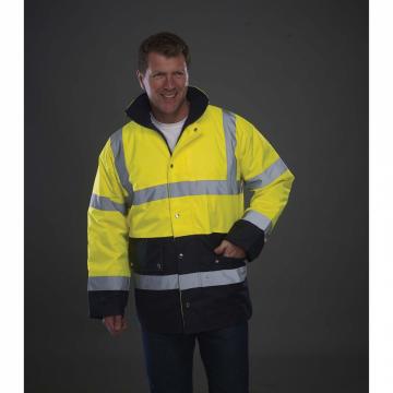 Veste de sécurité bicolore...