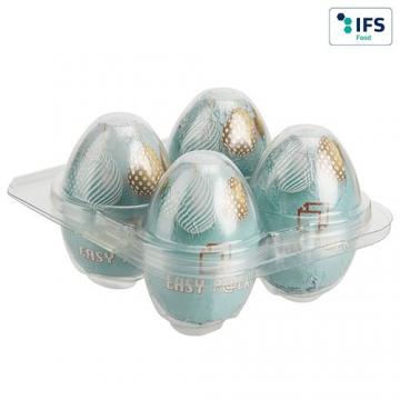 Boîte à œufs carrée pour 4...