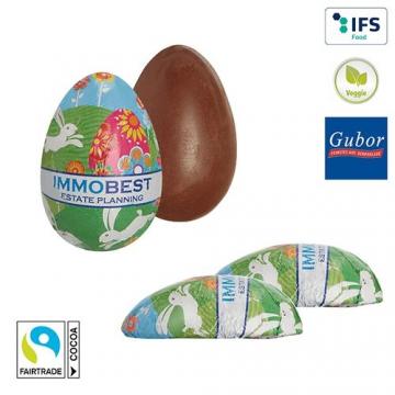 Demi-œuf de Pâques en chocolat